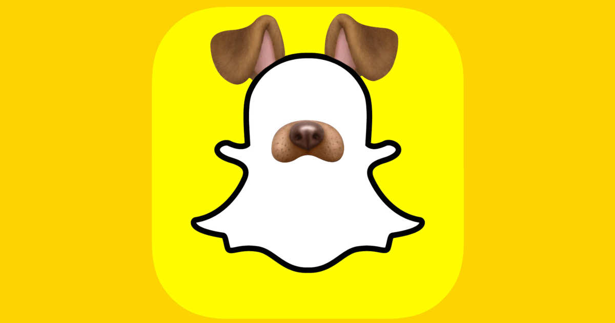 Snapchat filter clipart dog svg freeuse stock Why the Puppy Filter Makes Everyone Look Good svg freeuse stock
