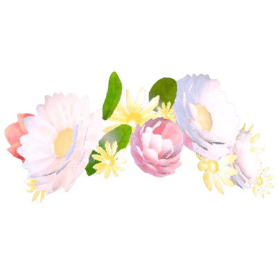 Snapchat flower filter clipart clip art freeuse Snapchat Filter Flowers Bouquet transparent PNG - StickPNG clip art freeuse