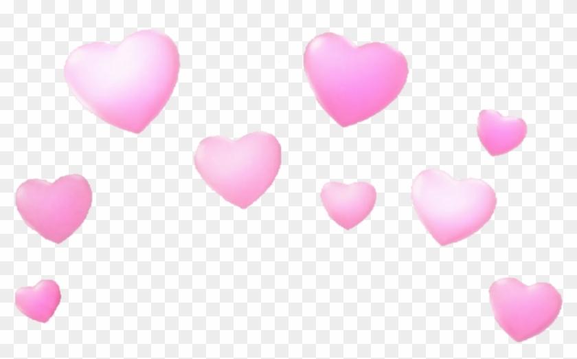 Snapchat hearts clipart svg transparent stock Transparent Snapchat Heart Filter, HD Png Download ... svg transparent stock