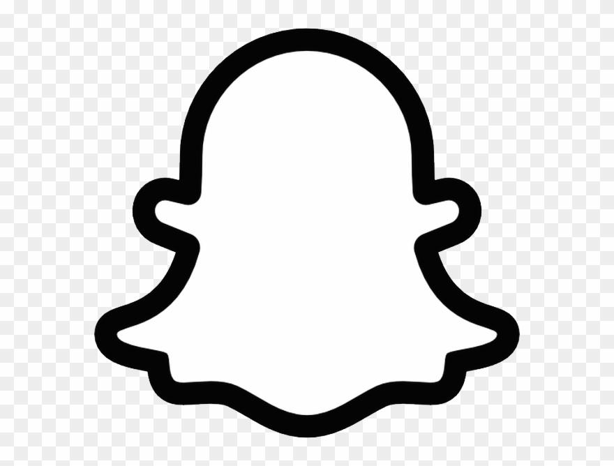 Snapchat Logo Png - Snapchat Ghost Printable Clipart ... svg library library