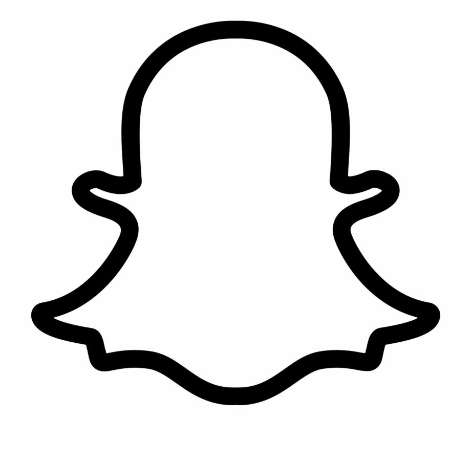 Snapchat Logo Png - Snapchat Logo Transparent Free PNG ... clip art freeuse download