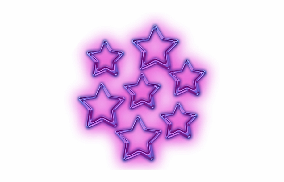 Imagenes neon clipart svg royalty free glowing #stars #snapchat #star #purple #neon - Purple Stars ... svg royalty free