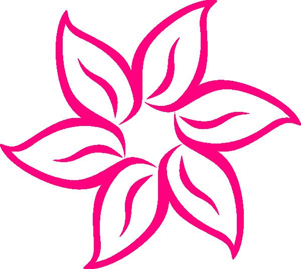 Snapdragon flower clipart banner library download Magenta Flower Image Clip Art at Clker.com - vector clip art online ... banner library download