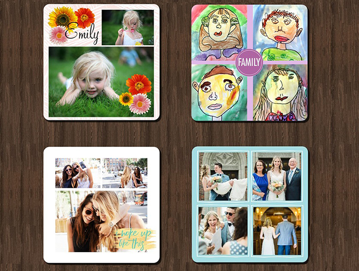 Snapfish clipart image royalty free Top Tips: Creating collage coasters! - Snapfish Blog image royalty free