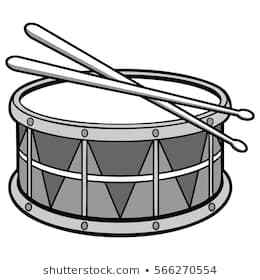 Snare drum clipart black and white clipart black and white Snare drum clipart black and white 2 » Clipart Portal clipart black and white