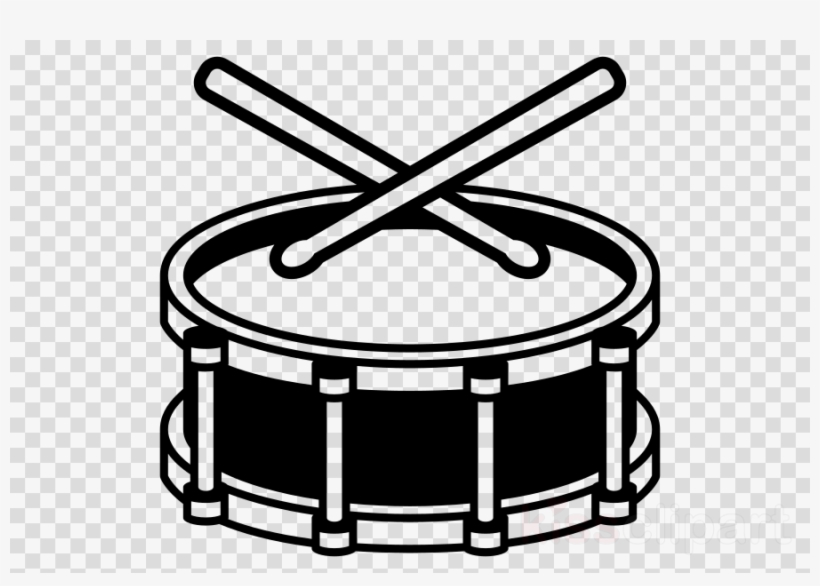 Snare drum clipart black and white image black and white download Drum Emoji Png Clipart Snare Drums Drum Sticks & Brushes ... image black and white download
