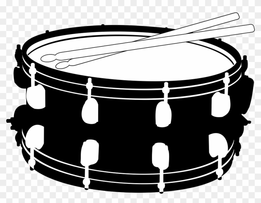 Snare drum clipart black and white jpg transparent Drums Snare Music Sticks Drum Sticks Small Drum - Snare Drum ... jpg transparent