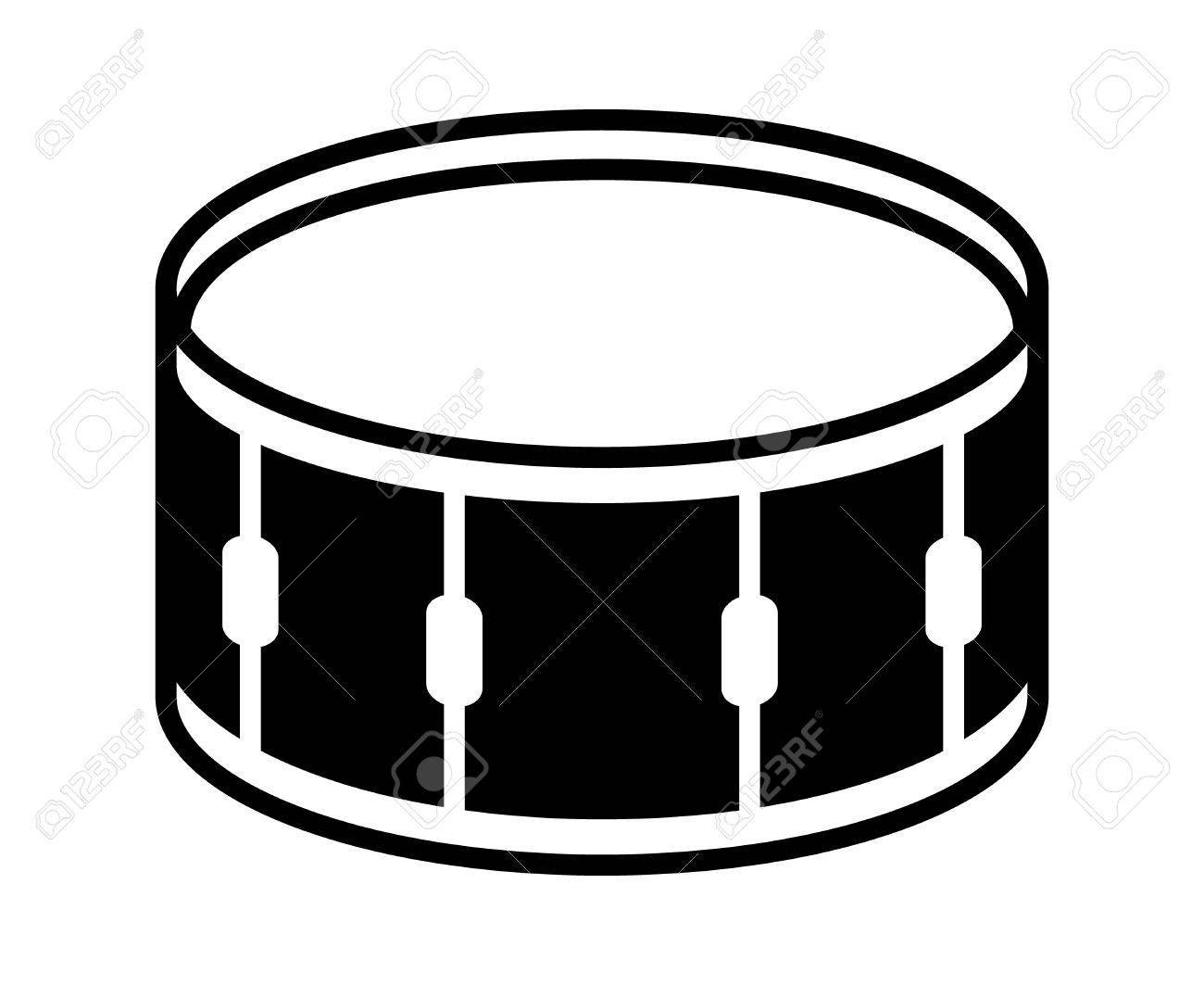 Snare drum clipart black and white 3 » Clipart Portal svg freeuse download