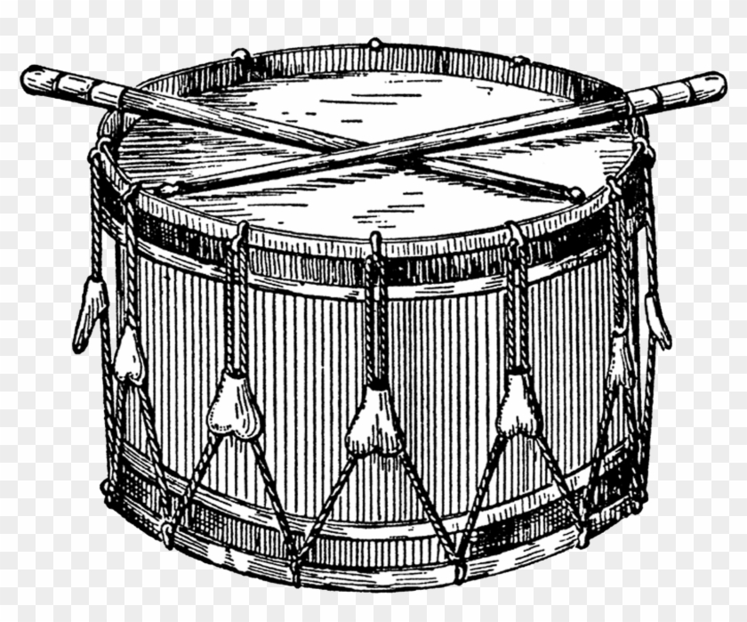 Snare drum clipart black and white jpg free stock Music - Snare Drum Clipart, HD Png Download - 1600x1263 ... jpg free stock
