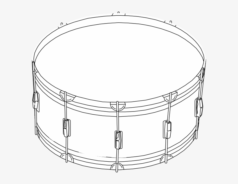 Png Black And White Snare Drum Clipart Black And White ... banner royalty free