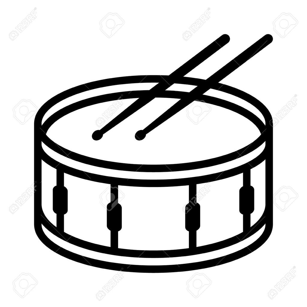 Snare drum free clipart clip freeuse download Snare Drum Clipart And Sticks Ith - Clipart1001 - Free Cliparts clip freeuse download