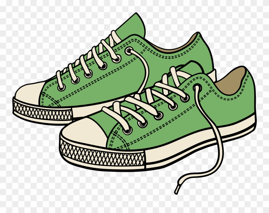Running shoes pictures clipart graphic freeuse stock Sneaker Tennis Shoes Clipart Black And White - Clipart ... graphic freeuse stock