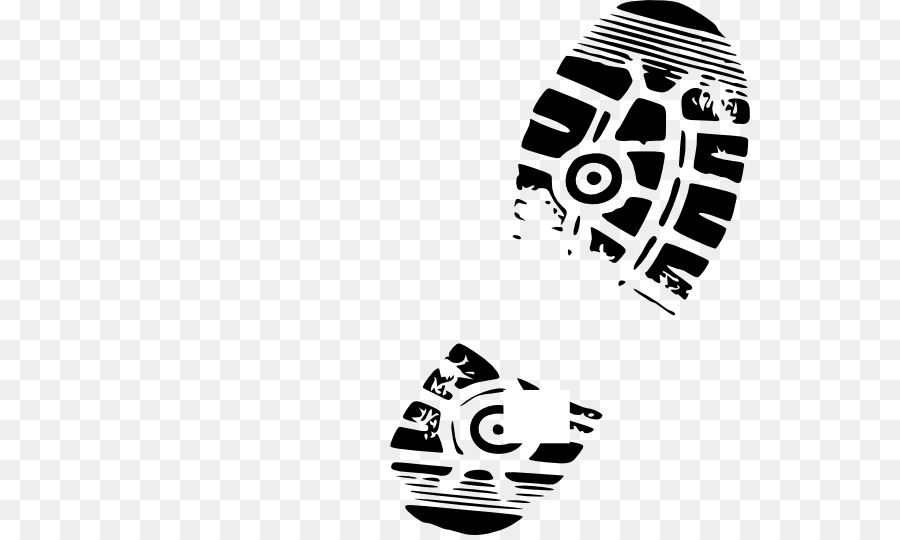 Sneaker footprint clipart vector black and white library Running Logo clipart - Footprint, Microphone, transparent ... vector black and white library