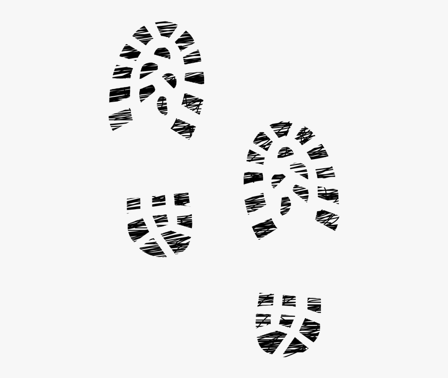 Sneaker footprint clipart clip royalty free download Sneaker Clipart Footprint - Boot Prints, Cliparts & Cartoons ... clip royalty free download