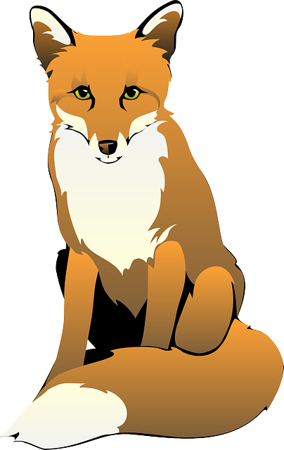 Free sneaky fox clipart clipart and vector image - Clip Art ... vector freeuse
