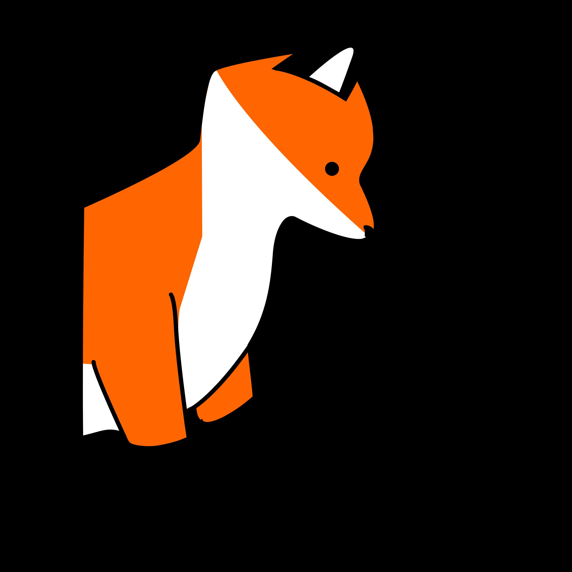 Fox clipart stupid fox - Clipartix picture transparent stock