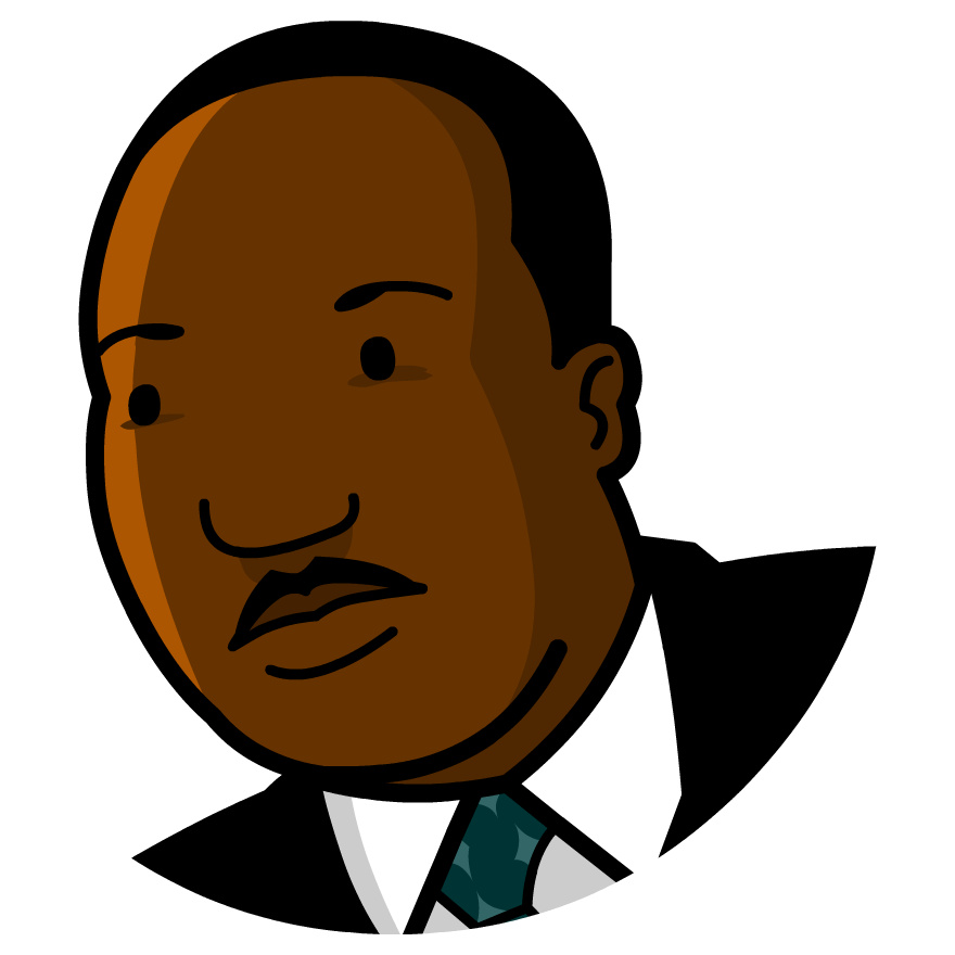 Sneetches star clipart vector freeuse download Martin Luther King Jr. - BrainPOP | Social Studies / History ... vector freeuse download