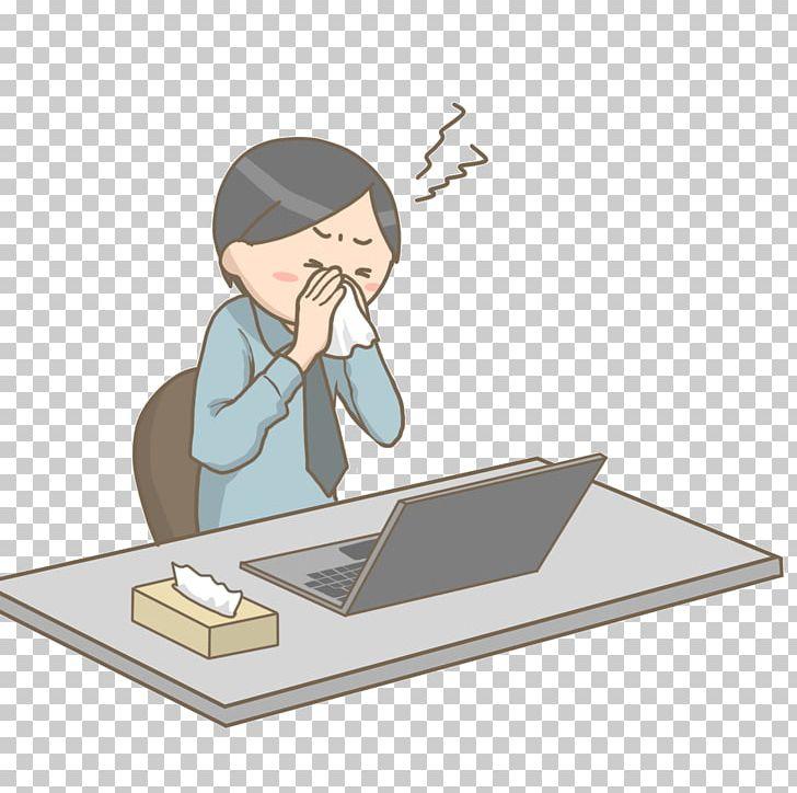 Sneeze office clipart