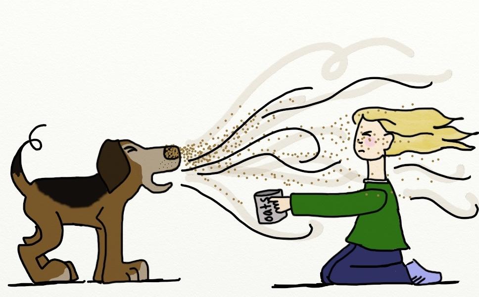 Sneezing animal clipart jpg stock dog sneeze Archives - Mickey Gomez jpg stock