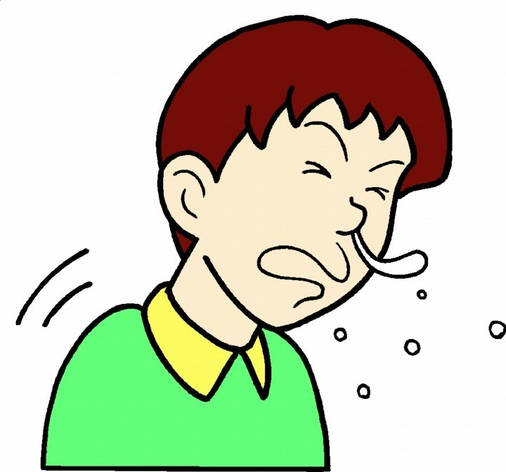 Sneezing clipart 1 » Clipart Portal graphic transparent library