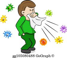 Sneezing Clip Art - Royalty Free - GoGraph clip art transparent download