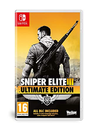 Sniper elite iii clipart jpg download Sniper Elite 3 Ultimate Edition (Nintendo Switch): Amazon.co ... jpg download