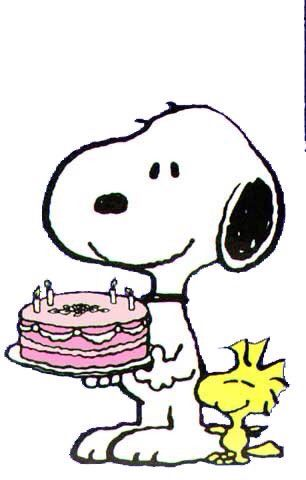 Snoopy birthday clipart picture royalty free library Happy Birthday! From Snoopy and Woodstock. | Peanuts ... picture royalty free library