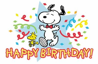 Snoopy birthday clipart graphic black and white library Free Animated Snoopy Cliparts, Download Free Clip Art, Free ... graphic black and white library