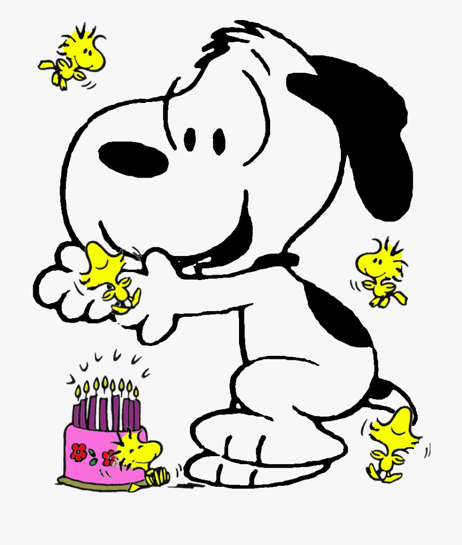 Snoopy birthday clipart graphic library Snoopy Birthday Clipart - Imagenes Snoopy Happy Birthday ... graphic library