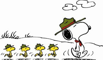 Snoopy boy scout clipart clip art royalty free Take a Hike, Snoopy - Charles M. Schulz Museum clip art royalty free