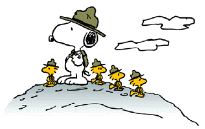 Snoopy boy scout clipart freeuse library Snoopy And Woodstock clipart - White, Bird, Yellow ... freeuse library