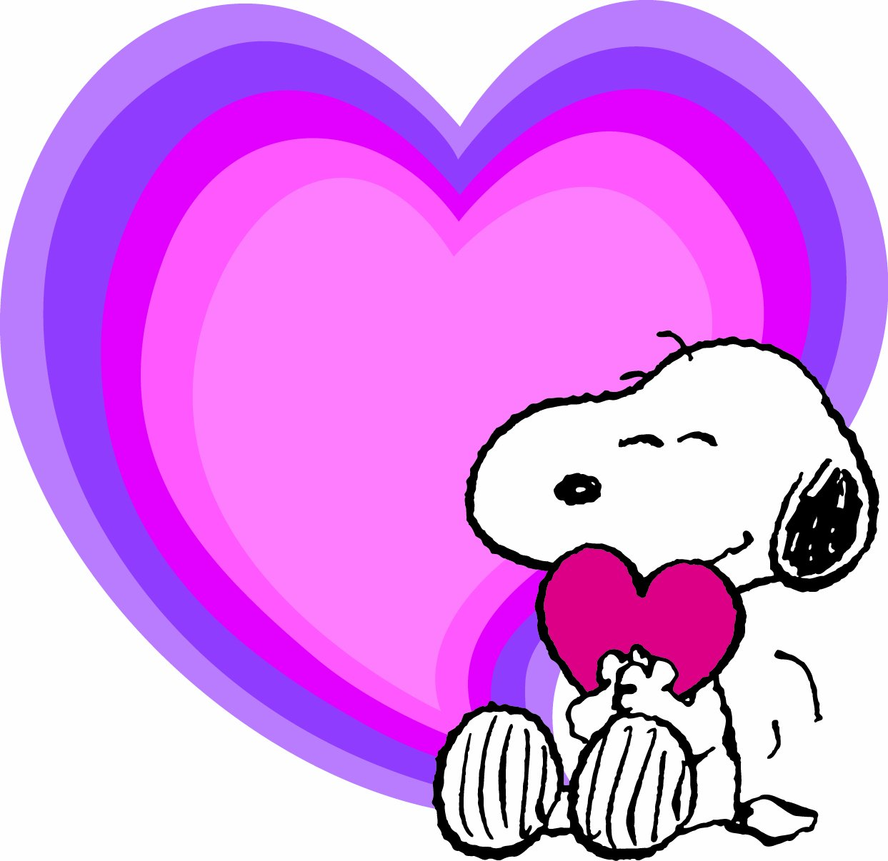 Snoopy clipart february jpg download Eureka Peanuts Valentine\'s Day Paper Cut Outs jpg download