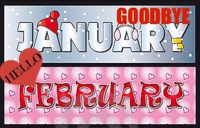 Snoopy clipart february banner transparent download Goodbye January Hello February Pictures, Photos, and Images ... banner transparent download