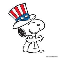 Snoopy clipart fourth of july freeuse library Forth Of July Clipart | Free download best Forth Of July ... freeuse library