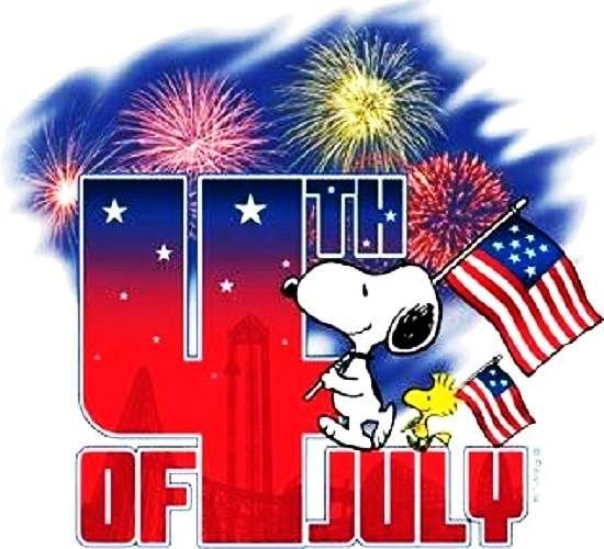 Snoopy clipart fourth of july download Happy 4th of july snoopy snoopy 4th of july clip art free ... download