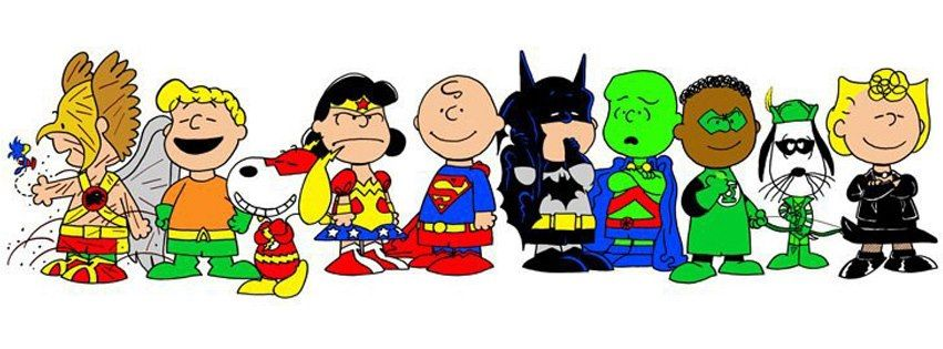 Snoopy clipart superhero free Peanuts Justice League | Crossovers | Snoopy, Peanuts comics ... free