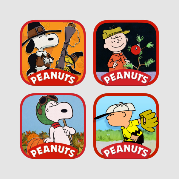 Snoopy clipart thanksgiving clip royalty free Snoopy and Charlie Brown's Classics Bundle on the App Store clip royalty free