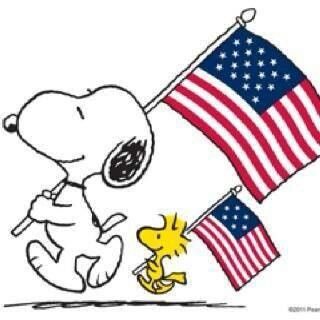 Snoopy fourth of july clipart clipart black and white download Snoopy 4th of july clipart 1 » Clipart Station clipart black and white download