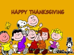 Snoopy happy thanksgiving clipart