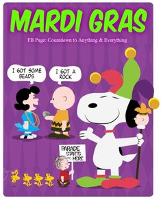 Snoopy mardi gras clipart image freeuse download 350 Best Snoopy and Peanuts Gang images in 2019 | Peanuts ... image freeuse download
