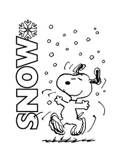 Snoopy snow clipart black and white svg royalty free Snow Clipart Black And White (88+ images in Collection) Page 1 svg royalty free