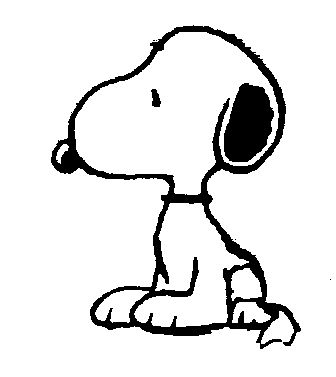 Snoopy the dog clipart clip art transparent Free Snoopy Clip Art black and white | Arthur's Free Comic ... clip art transparent