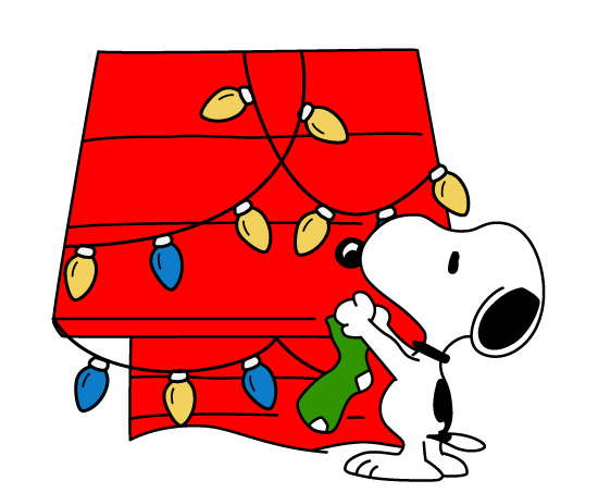 Snoopy the dog clipart image free Snoopy dog house clipart chritsmas - ClipartFest image free