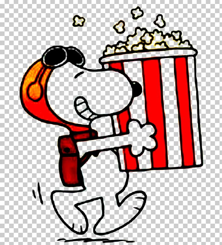 Snoopy Popcorn Cartoon T-shirt Comics PNG, Clipart, American ... clip transparent stock