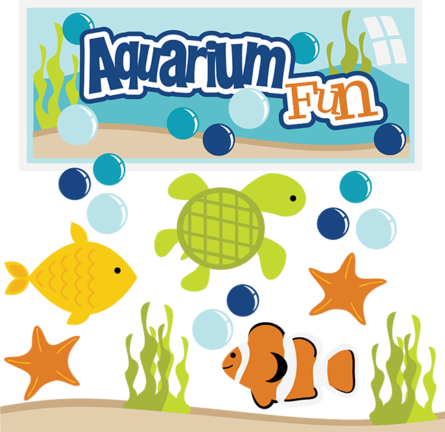 Swedish fish clipart png library stock Aquarium Fun SVG aquarium clipart fish svg files turtle svg files ... png library stock