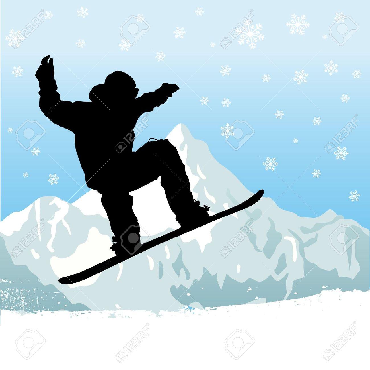 Snow board clipart clip stock 18+ Snowboarding Clipart | ClipartLook clip stock