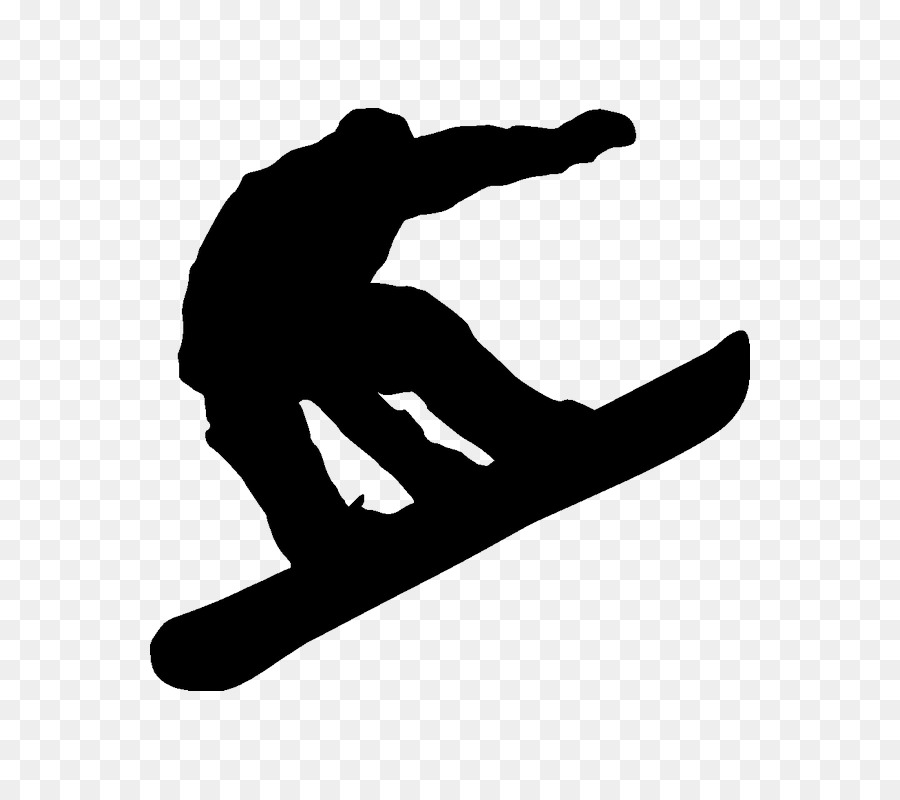 Snowboard clipart library Snowboarding Silhouette png download - 800*800 - Free ... library