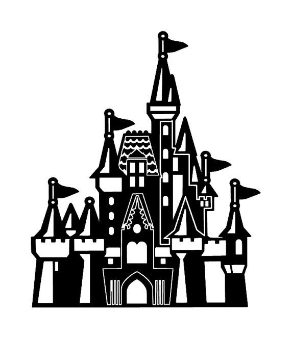 Snow castle clipart black and white sketch jpg transparent download Cinderellas Castle Drawing | Free download best Cinderellas ... jpg transparent download