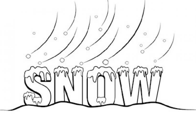 Snow Day Clipart - Clipart Junction vector stock