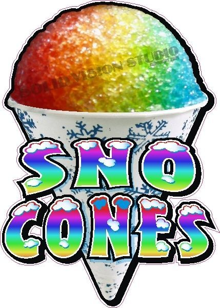 Snow cone booth clipart graphic black and white stock 24\